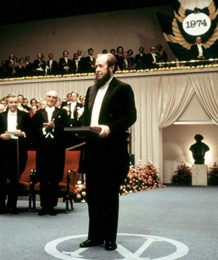 Александр Исаевич Солженицын. Нобелевскую премию А. И. Солженицын получил в 1970г. В феврале 1974г. Солженицын был арестован и с